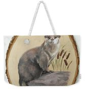 Otter - Growing Curiosity Weekender Tote Bag