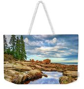 Otter Point Reflections Weekender Tote Bag