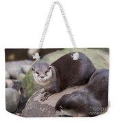 Otters In Arms Weekender Tote Bag