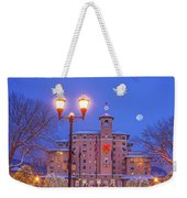 Our Annual Hometown Fete In A World-famous Hotel Weekender Tote Bag