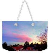 Our Cloud Sunset 12-08 Weekender Tote Bag