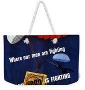 Our Food Is Fighting - Ww2 Weekender Tote Bag