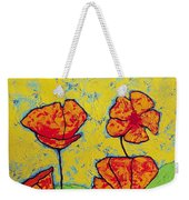 Our Golden Poppies Weekender Tote Bag
