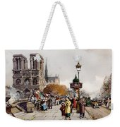 Our Lady For The Quai Saint-michel Weekender Tote Bag