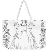 Our Lady Of Grace Weekender Tote Bag