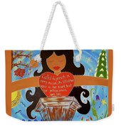 Our Lady Of Proclamation Weekender Tote Bag