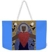 Our Lady Of Sorrows Weekender Tote Bag by Angela Yarber