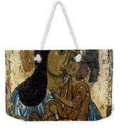 Our Lady Of Tenderness Weekender Tote Bag