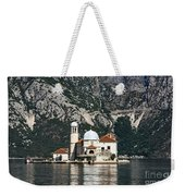Our Lady Of The Rocks Church Weekender Tote Bag