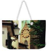 Our Ladys Minster Church In Zurich Switzerland Weekender Tote Bag