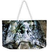 Our Little Angel Stone Carving Horizontal Weekender Tote Bag