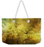 Our Town In Autumn Weekender Tote Bag