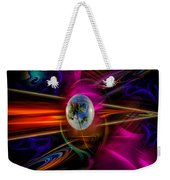 Our World Of Mystery - Airmail Weekender Tote Bag