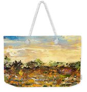 Out Weekender Tote Bag