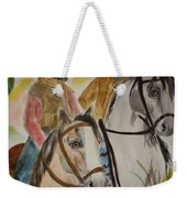Out For A Ride Weekender Tote Bag