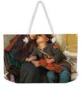 Out In The Cold Weekender Tote Bag