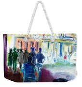Out Of Darkness Into The Light Weekender Tote Bag