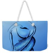 Out Of The Blue Aventurine Weekender Tote Bag