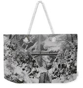 Out Of The Fog Weekender Tote Bag
