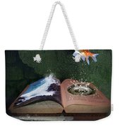 Out Of The Pond Weekender Tote Bag