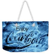 Out Of This World Coca Cola Blues Weekender Tote Bag