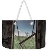 Out Overlooking A Pasture Weekender Tote Bag