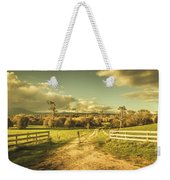 Outback Country Paddock Weekender Tote Bag