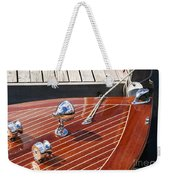Outboard Runabout Weekender Tote Bag