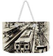 Outbound Train Weekender Tote Bag