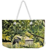 Outbuilding At Oriskatach New York Weekender Tote Bag