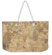Outdoor Cafe Scene Weekender Tote Bag
