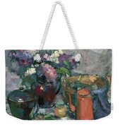 Outdoor Lilacs Weekender Tote Bag