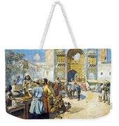 Outdoor Market Weekender Tote Bag