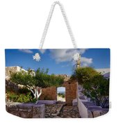 Outdoor View Weekender Tote Bag