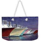 Outer Banks Line-up Weekender Tote Bag