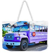 Outer Banks University Bus 2 Weekender Tote Bag