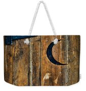 Outhouse Door  Weekender Tote Bag