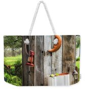 Outhouse In The Garden Weekender Tote Bag