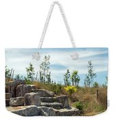 Outlook Hill, Governors Island Weekender Tote Bag