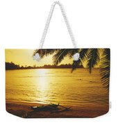 Outrigger At Sunset Weekender Tote Bag
