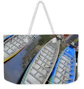 Outrigger Canoe Boats Weekender Tote Bag