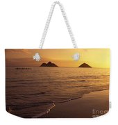 Outrigger Canoe Paddlers Weekender Tote Bag