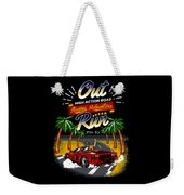 Outrun  Weekender Tote Bag