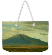 Outside Of Taos Weekender Tote Bag by Phyllis Tarlow