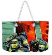 Outside Roof Weekender Tote Bag