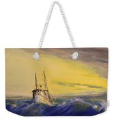 Outside The Jetty Weekender Tote Bag