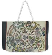 Outside The Mandala Weekender Tote Bag