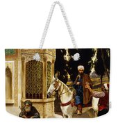 Outside The Palace Weekender Tote Bag