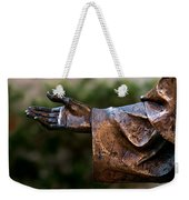 Outstretched Hand Weekender Tote Bag
