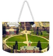 Oval At University Of Montana  Weekender Tote Bag